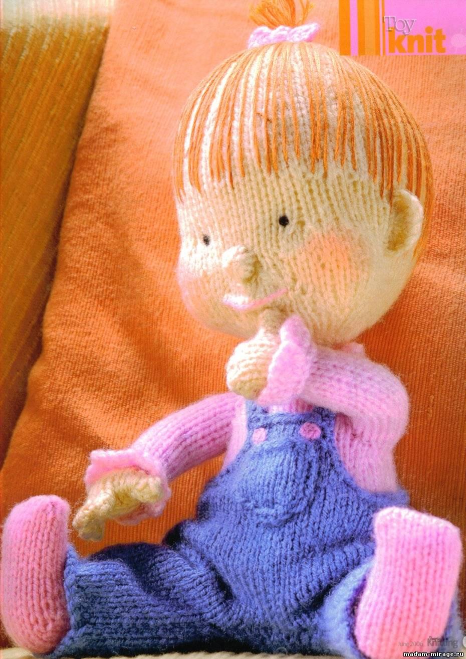 Вязание игрушек по алану дарту